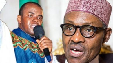 """Photo of THE """"CONTRACTORS"""" BUHARI REJECTED WERE FOREIGN EXPERTS WITH PLANS FOR ENDING BOKO HARAM AND OIL THEFT IN 6 MONTHS – FR. MBAKA"""