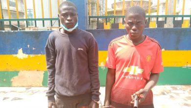 Photo of ENUGU POLICE PARADES SUSPECTED KIDNAPPERS, OTHERS