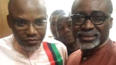 Photo of ABARIBE SHOULD BE IN PRISON FOR STANDING SURETY FOR NNAMDI KANU, YET STILL SPEWS RUBBISH—FEMI ADESINA